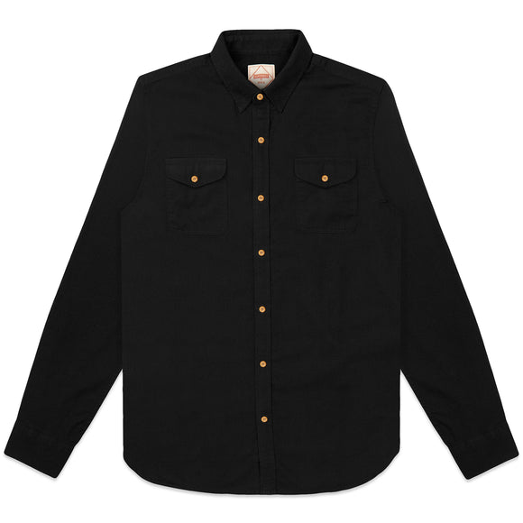 Superdry Classic Commuter Shirt - Black Twill