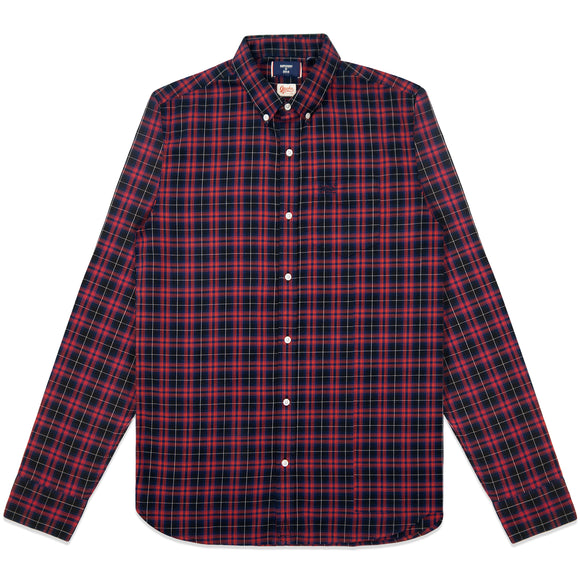 Superdry Classic London Button Down Shirt - Navy Check