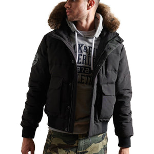 Superdry Everest Bomber Jacket - Black