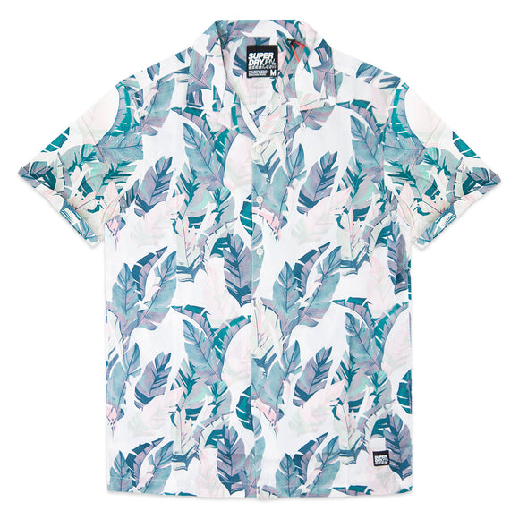 Superdry Hawaiian Box Short Sleeve Shirt - White