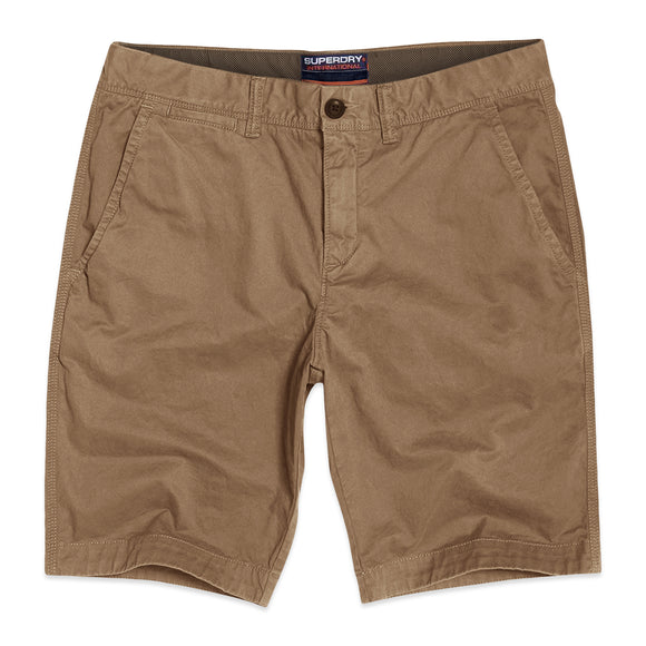 Superdry International Chino Shorts - Desert Beige