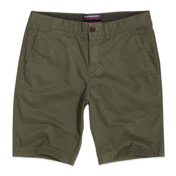 Superdry International Chino Shorts - Dusty Olive