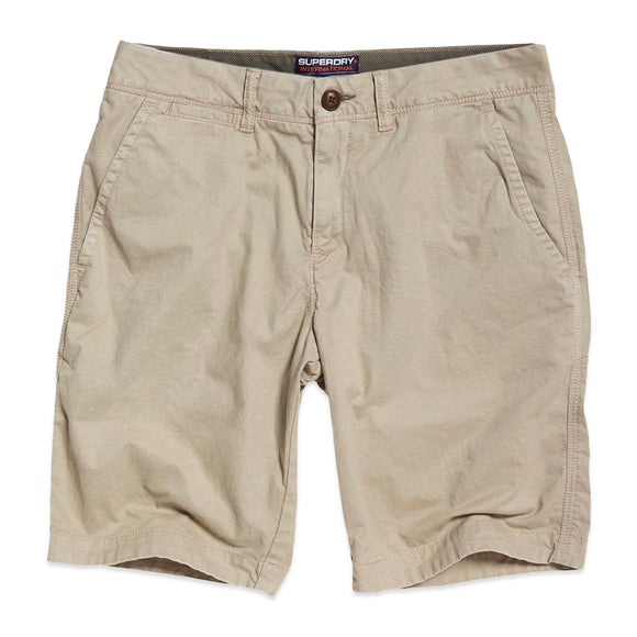 Superdry International Chino Shorts - Sand Dollar