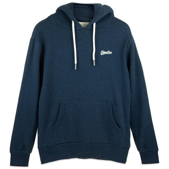 Superdry Orange Label Classic Hood - Midnight Blue Grit
