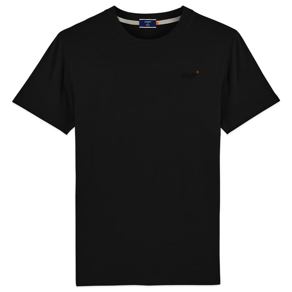 Superdry Orange Label Vintage Embroidery T-Shirt - Black
