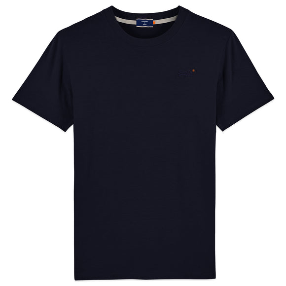 Superdry Orange Label Vintage Embroidery T-Shirt - Rich Navy