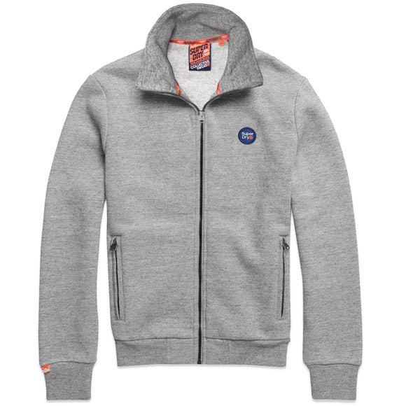 Superdry Collective Track Top - Collective Dark Grey Grit