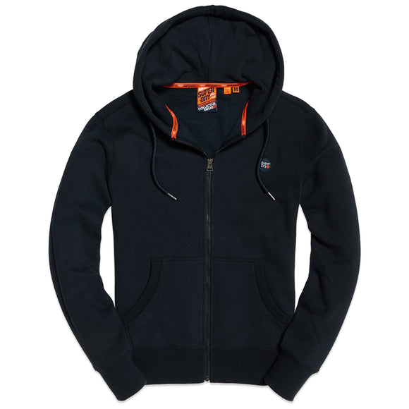 Superdry Collective Zip Hood - Darkest Navy