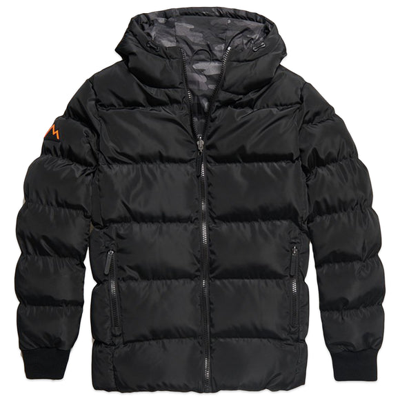 Superdry Converter Puffer Jacket - Black