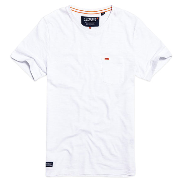 Superdry Dry Originals Pocket T-Shirt - Optic