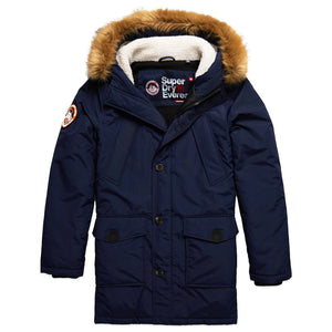 Superdry Everest Parker Jacket - Nautical Navy