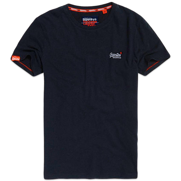 Superdry Orange Label Vintage Embroidery T-Shirt - Eclipse Navy