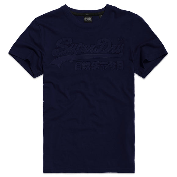 Superdry VL Embroidery T-Shirt - Rich Navy