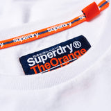 Superdry Orange Label Vintage Embroidery Long Sleeve T-Shirt - White
