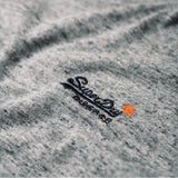 Superdry Orange Label Vintage Embroidery T-Shirt - Flint Steel Grit