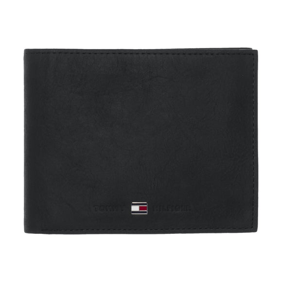 Tommy Hilfiger Johnson Trifold Wallet - Black