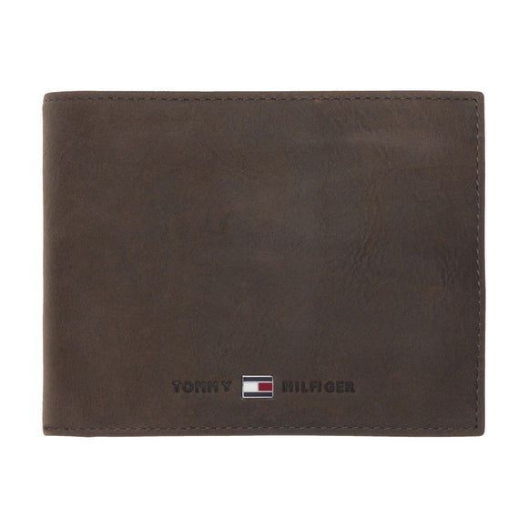 Tommy Hilfiger Johnson Trifold Wallet - Brown