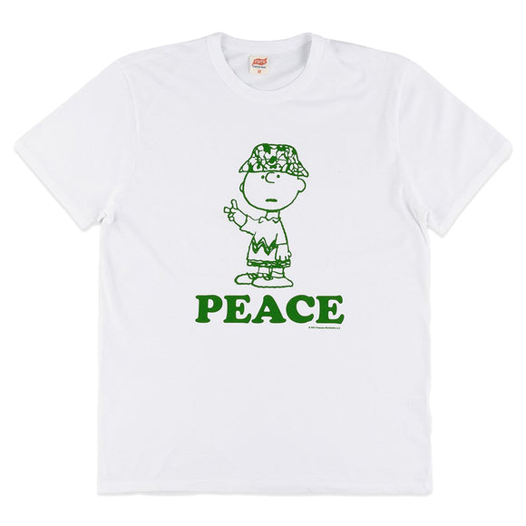 TSPTR Peace Tee - White
