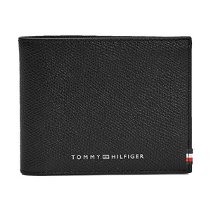 Tommy Hilfiger Business Mini Card Wallet - Textured Black