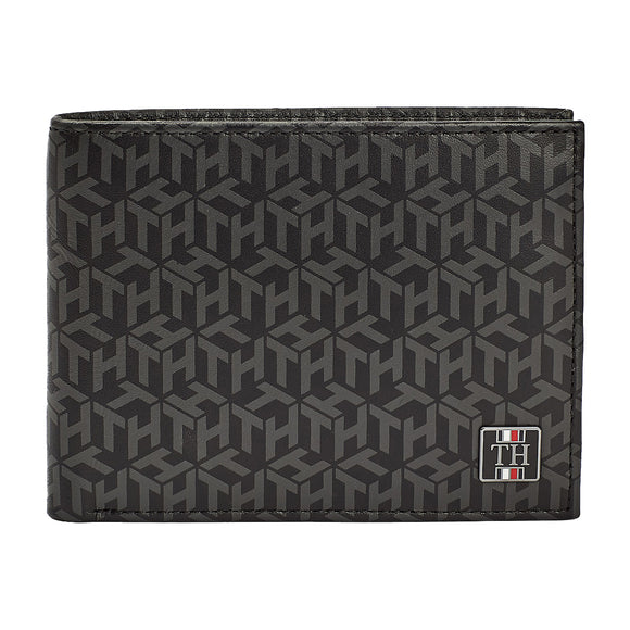 Tommy Hilfiger Card and Coin Flap Wallet - Monogram