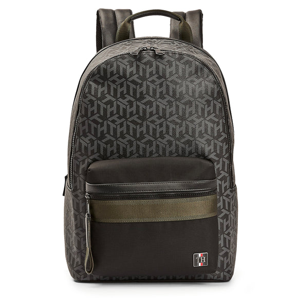 Tommy Hilfiger Coated Canvas Backpack - Monogram