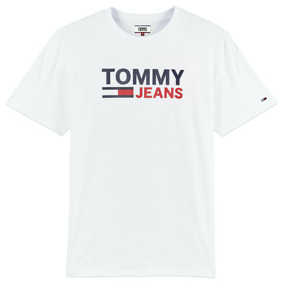 Tommy Jeans Corporate Logo T-Shirt - White