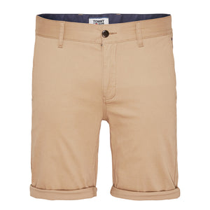 Tommy Jeans Essential Chino Short - Khaki