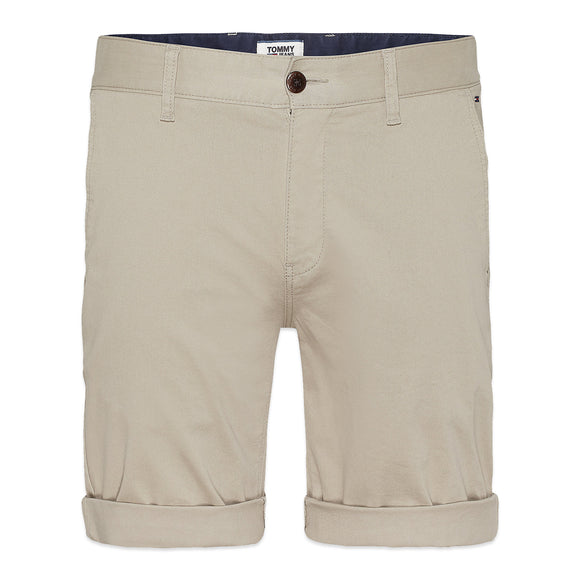 Tommy Jeans Essential Chino Short - Stone