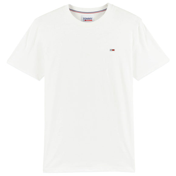 Tommy Jeans New Flag T-Shirt - White