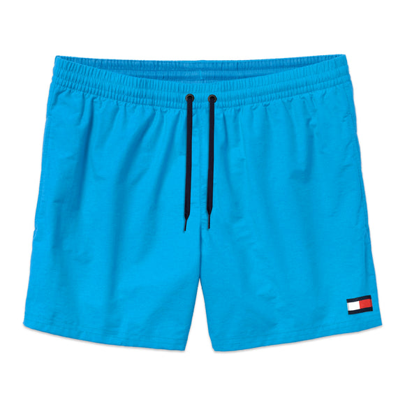 Tommy Hilfiger Drawstring Swim Shorts - Blue Aster