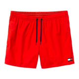 Tommy Hilfiger Drawstring Swim Shorts - Tomato Red