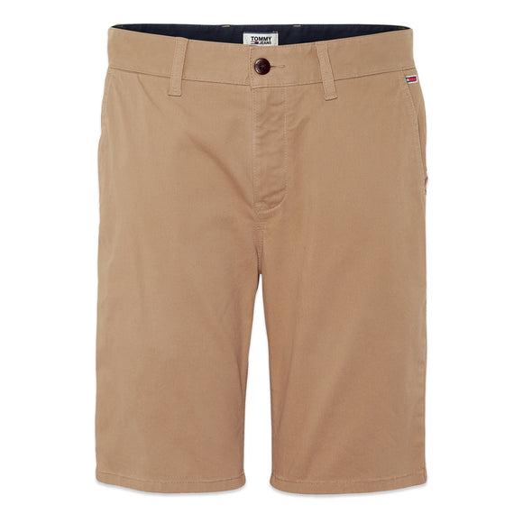 Tommy Jeans Essential Chino Short - Taupe