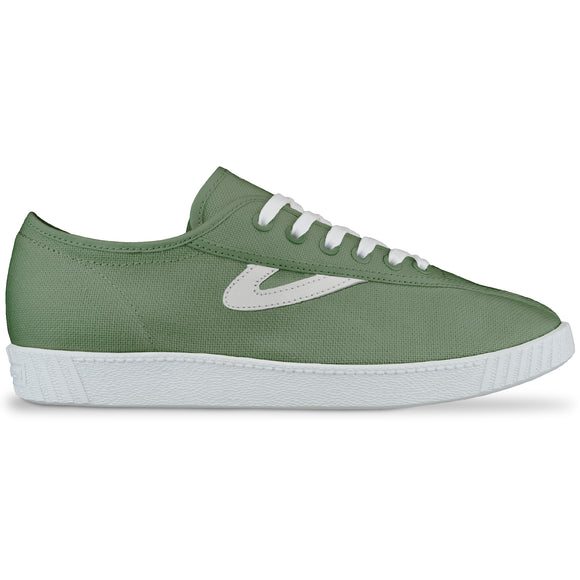 Tretorn Nylite Canvas Trainers - Seagrass/White