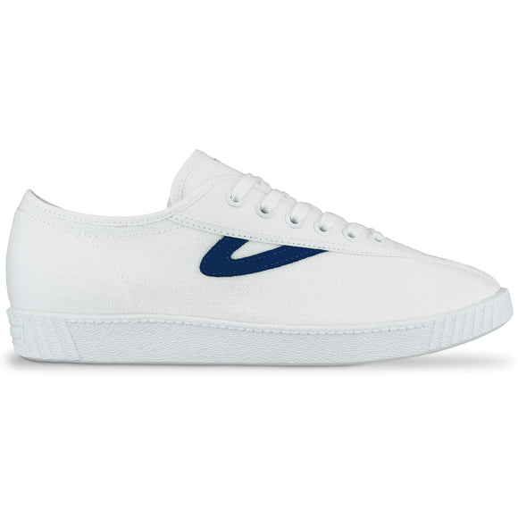 Tretorn Nylite Canvas Trainers - White/Midnight