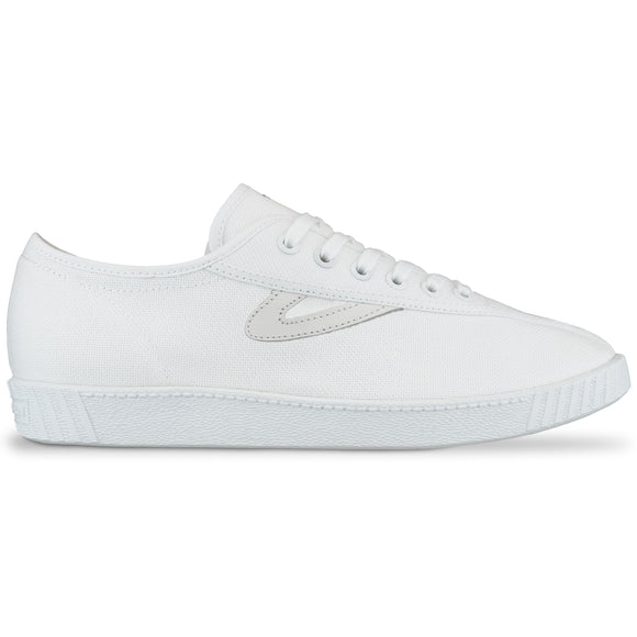 Tretorn Nylite Canvas Trainers - White/White