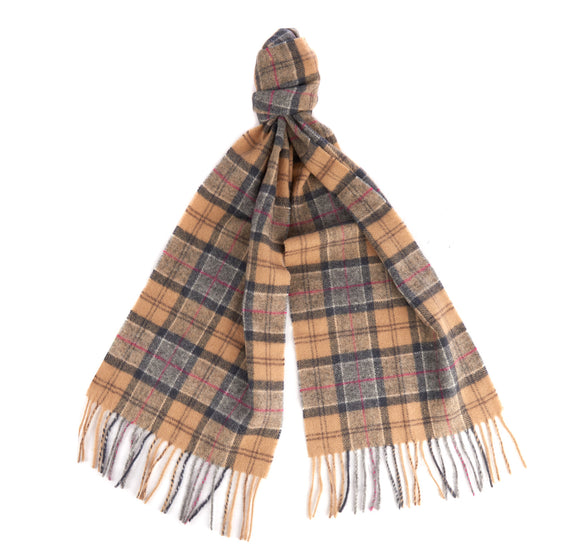 Barbour Tartan Lambswool Scarf - Dress - Arena Menswear