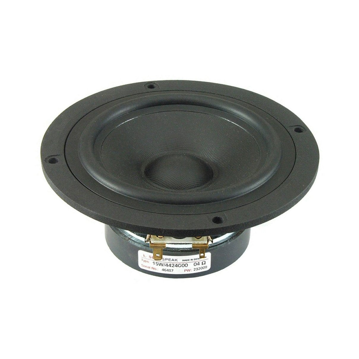 Scanspeak Discovery 15W/4424G00 Midwoofer - Willys-Hifi Ltd