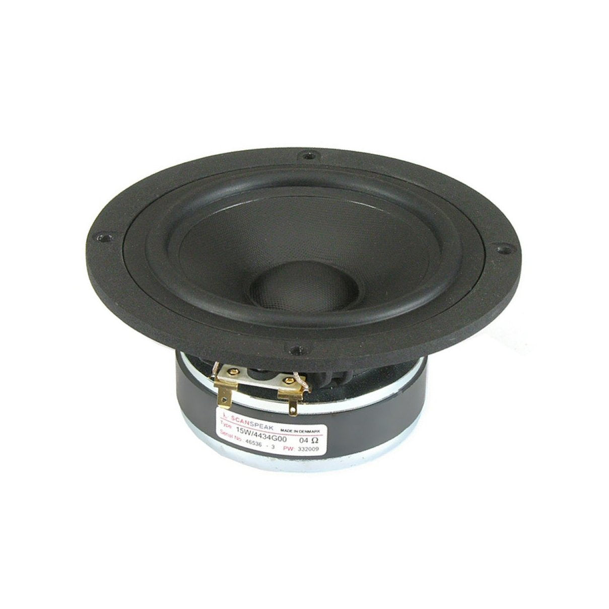 Scanspeak Discovery 15W/4434G00 Midwoofer - Willys-Hifi Ltd