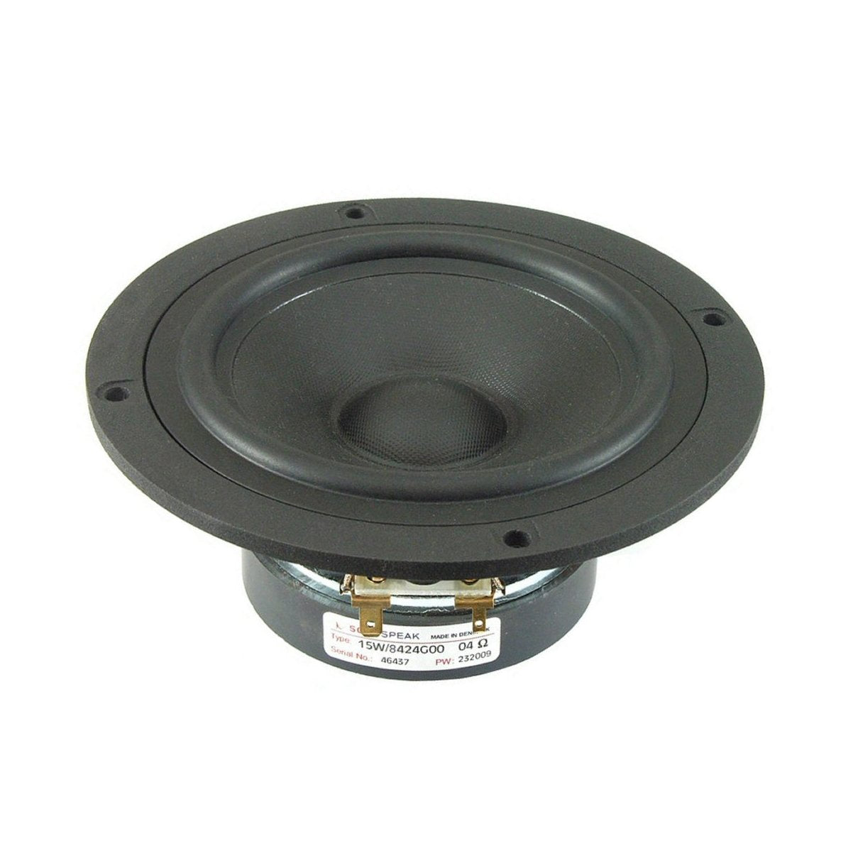 Scanspeak Discovery 15W/8424G00 Midwoofer - Willys-Hifi Ltd