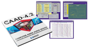 Loudspeaker Design & Crossover Calculator Software CD - Monacor CAAD 4.2 - Willys-Hifi Ltd
