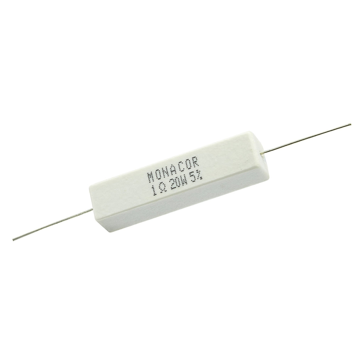 1.0 Ohm 20 Watt 5% Ceramic Wirewound Resistor - Willys-Hifi Ltd