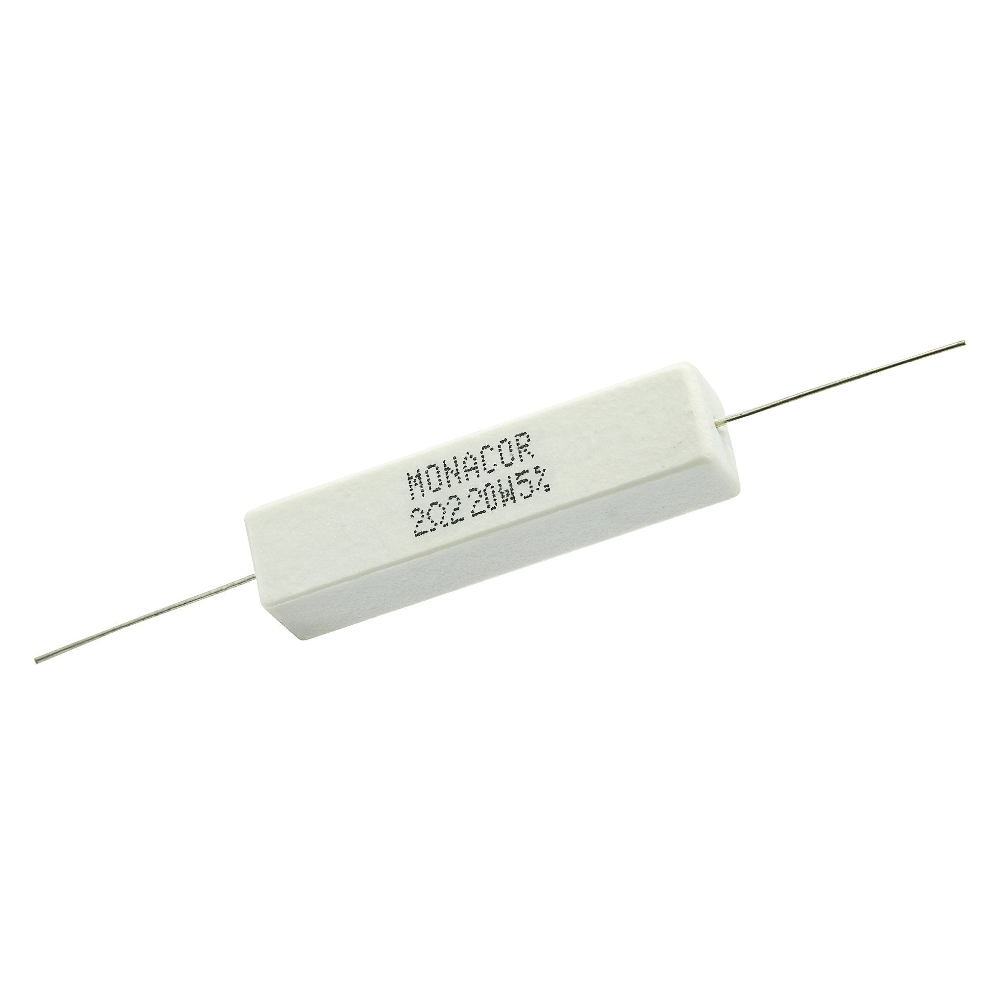 2.2 Ohm 20 Watt 5% Ceramic Wirewound Resistor - Willys-Hifi Ltd