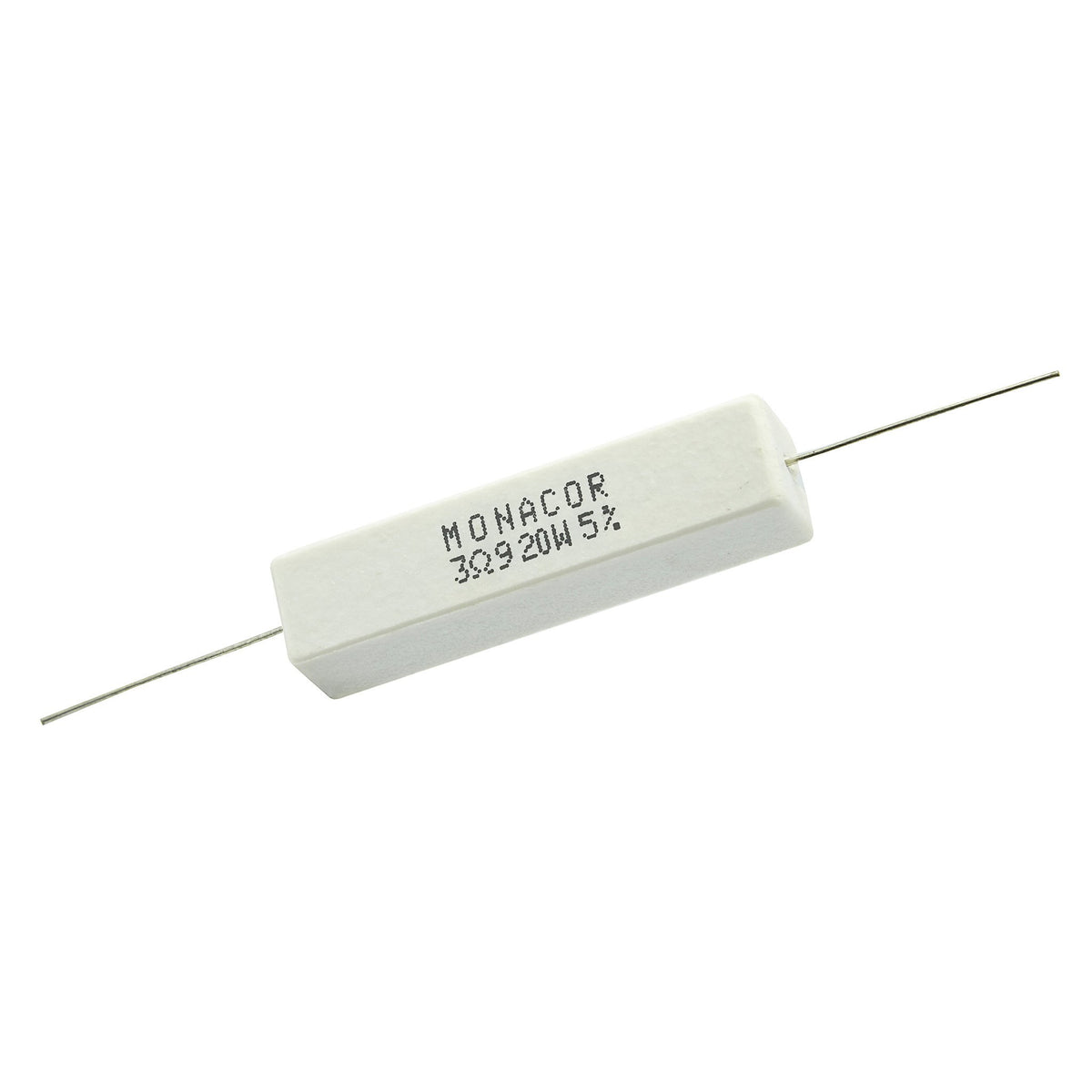 3.9 Ohm 20 Watt 5% Ceramic Wirewound Resistor - Willys-Hifi Ltd