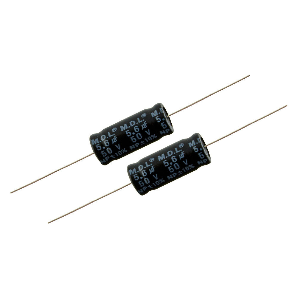 5.6uf Electrolytic Bipolar Capacitors. - Willys-Hifi Ltd