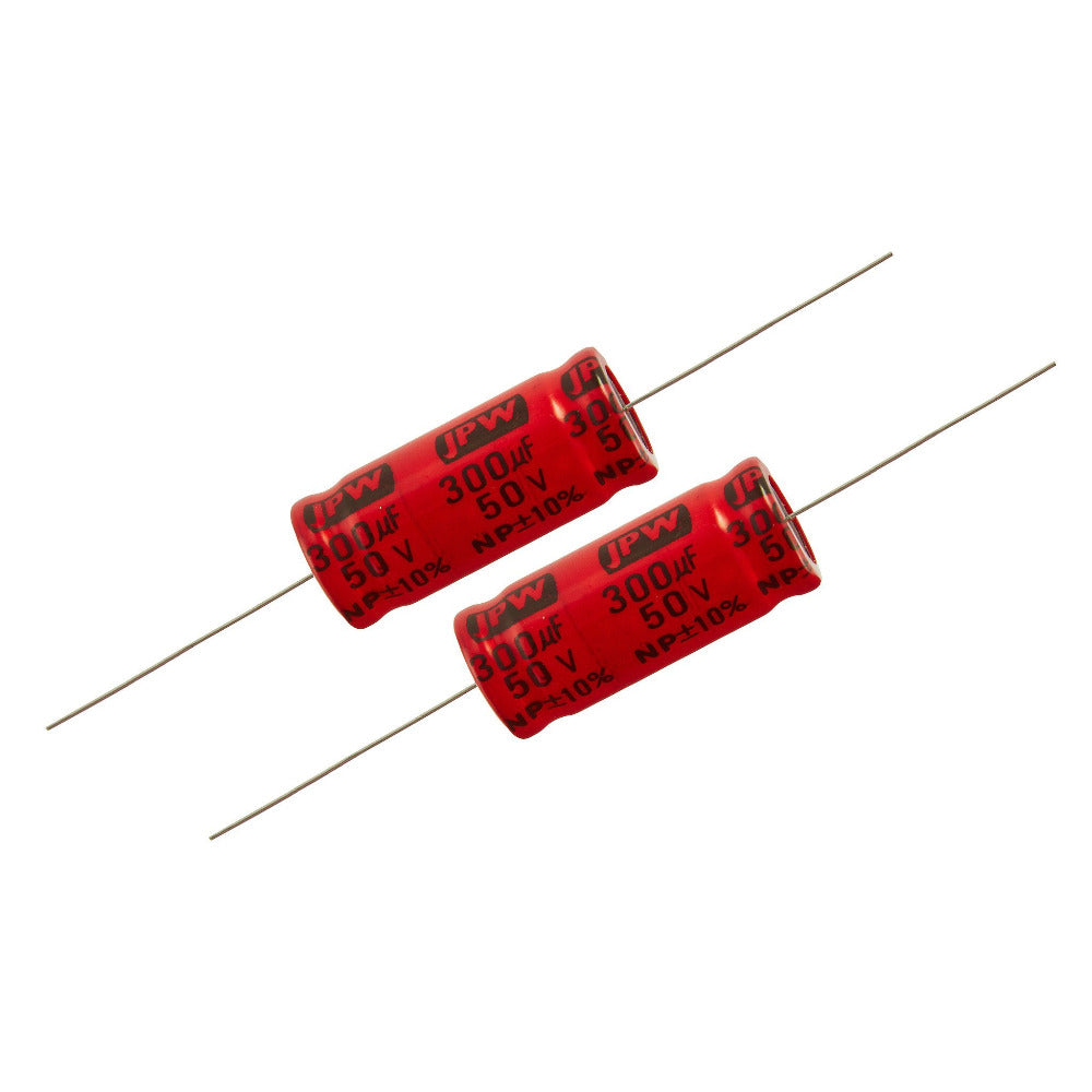 300uf Electrolytic Bipolar Capacitors. - Willys-Hifi Ltd