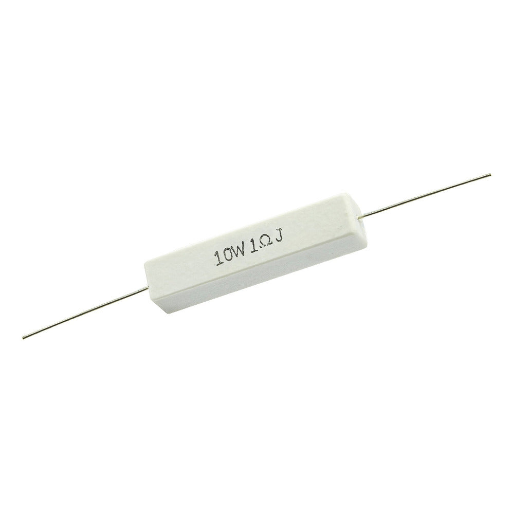 1.0 Ohm 10 Watt 5% Ceramic Wirewound Resistor - Willys-Hifi Ltd
