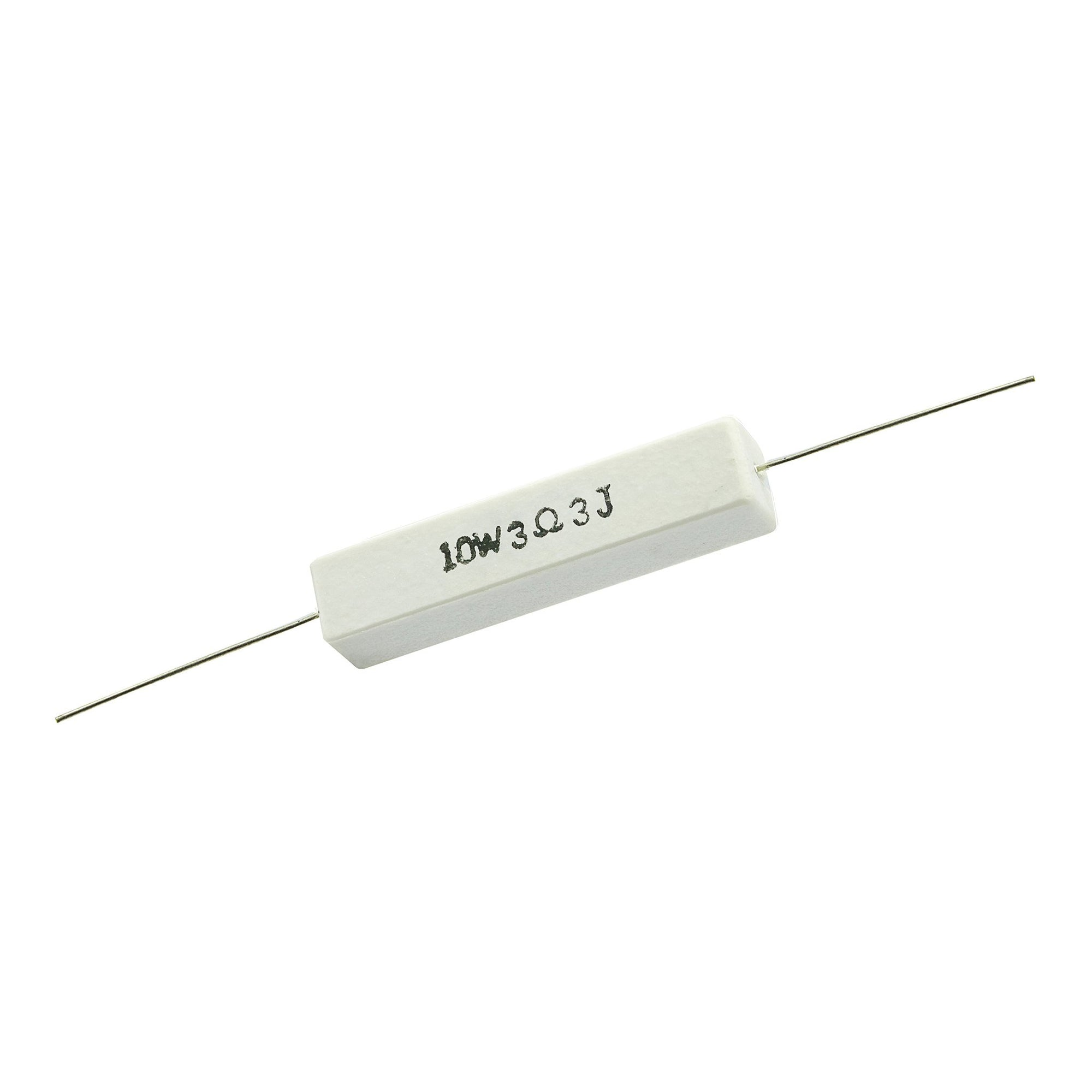 3.3 Ohm 10 Watt 5% Ceramic Wirewound Resistor - Willys-Hifi Ltd