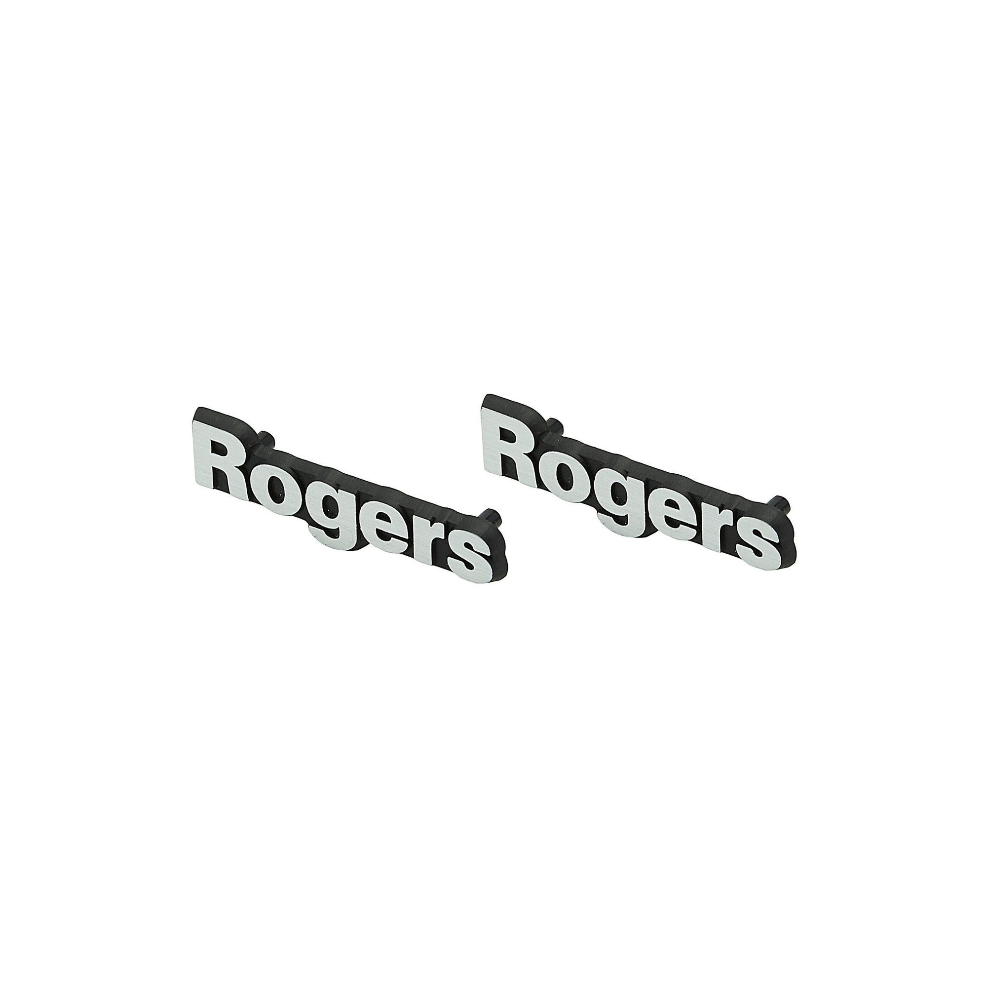 Rogers Speakers Logo Badges x2 LS3/5a + others GENUINE - Willys-Hifi Ltd