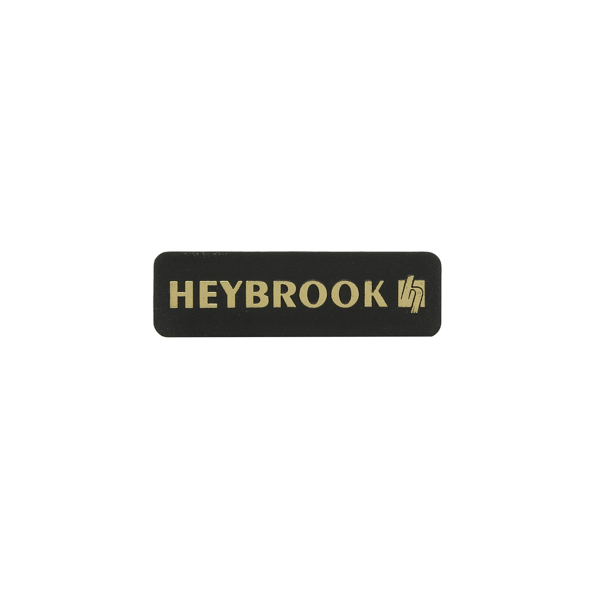 Heybrook Speaker Logo Badge GENUINE - Willys-Hifi Ltd