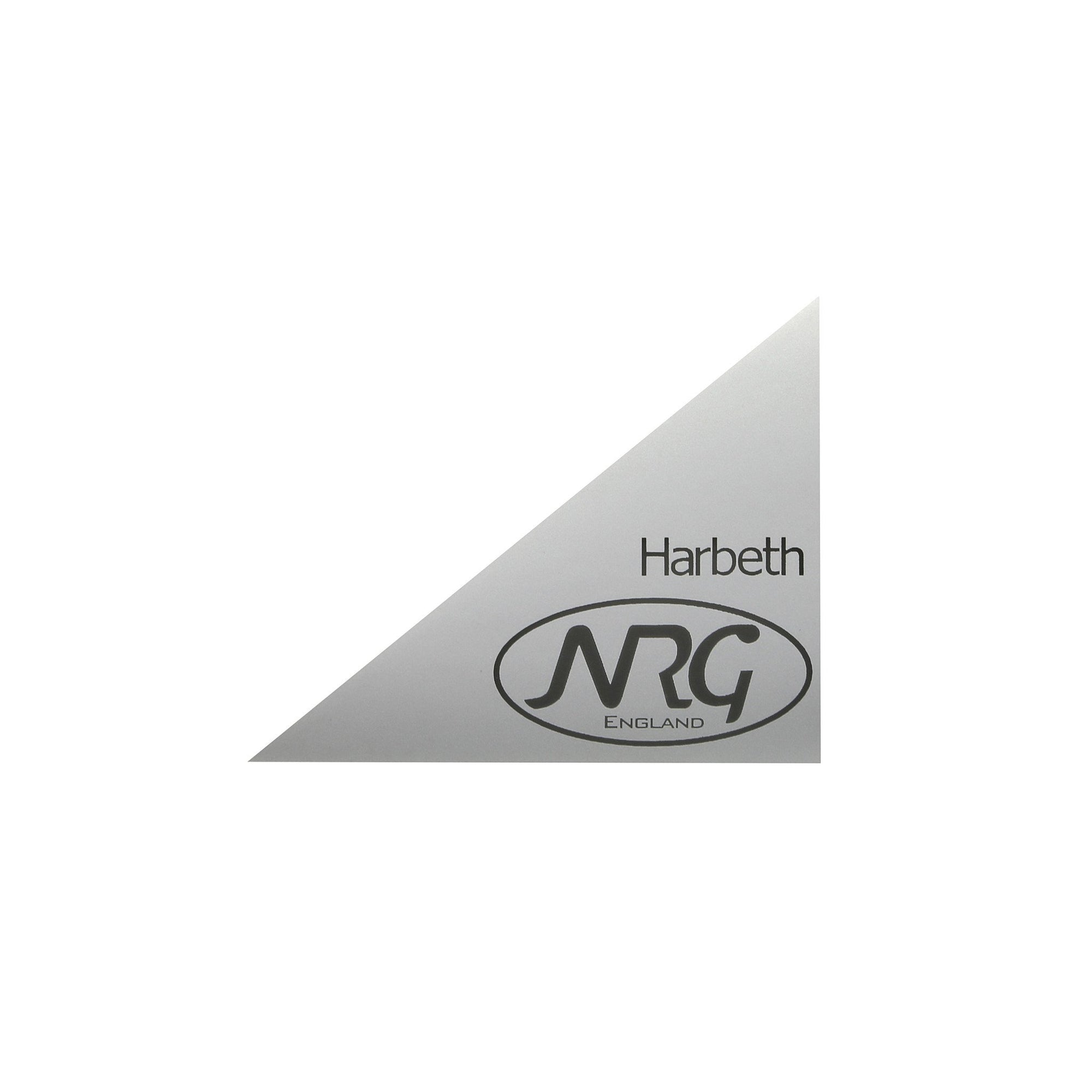 Harbeth NRG Speaker Logo Sticker badges GENUINE - Willys-Hifi Ltd
